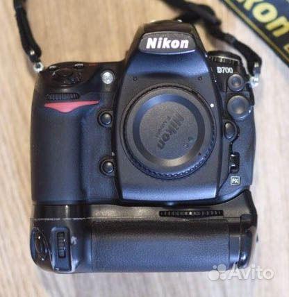 Объявление Nikon D700 (3 фотографии). Зеркальный фотоаппарат N