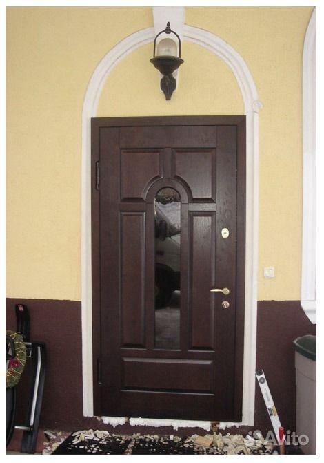 широкие входные теплые металлические двери химки