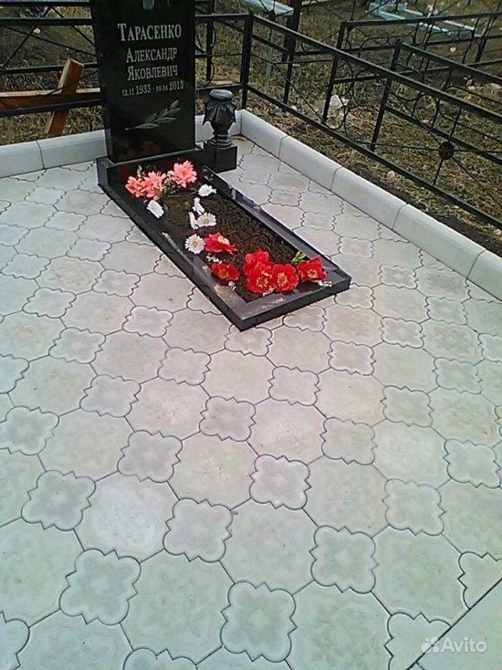 Как самостоятельно уложить плитку на кладбище