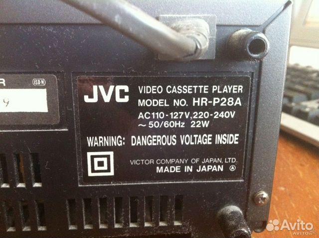 Пишущий Видеоплеер JVC HR-P28A