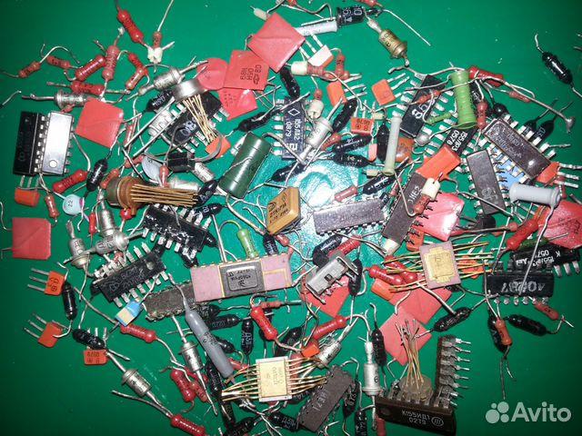 конденсаторы, резисторы и