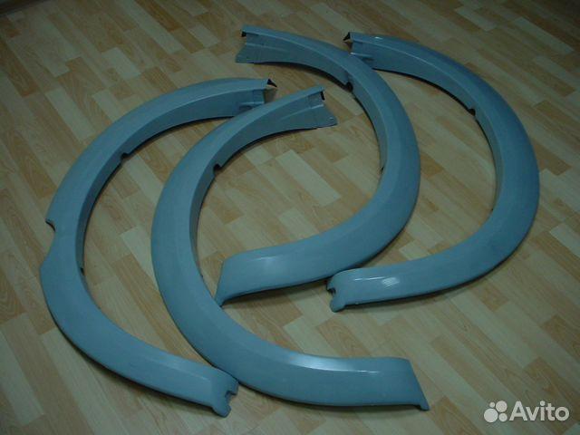 Изготовление расширителей колесных арок