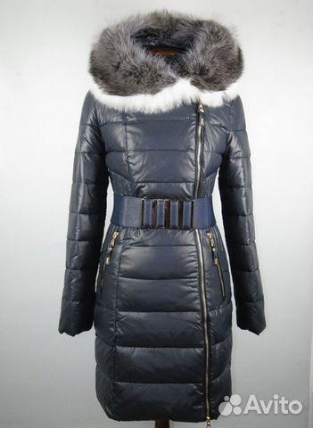 Модель сезона: зима зимнее пальто из эко-кожи с утеплителем-холлофайбер