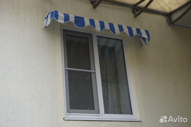 Как сделать козырек от дождя над окном 70