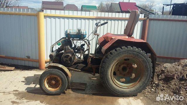 Продажа самодельного трактора в перми