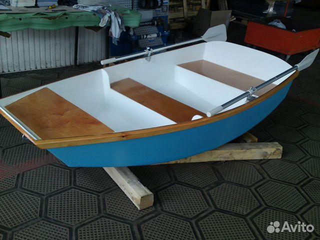 весельная фанерная лодка
