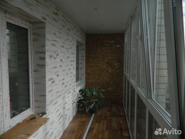 Внутренняя обшивка балкона фото декоративными материалами..