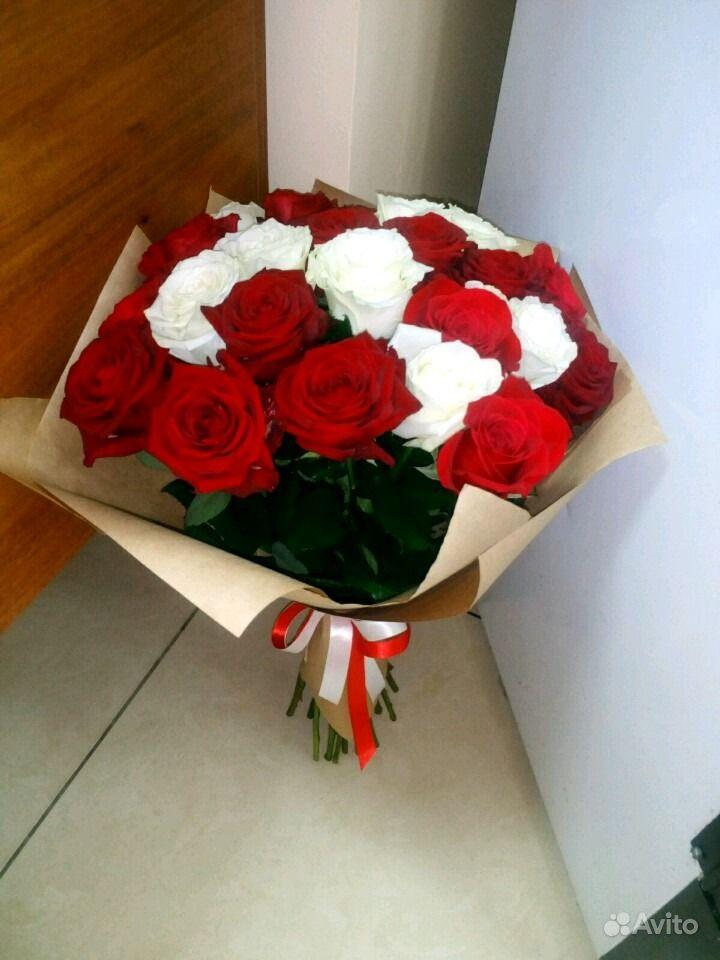 Свежие живые цветы купить на Зозу.ру - фотография № 3