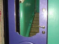 Входная дверь с зеркалом — Ремонт и строительство в Москве