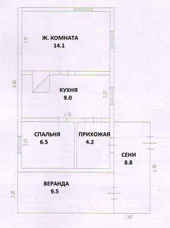 Дом 33.8 м² на участке 15 сот. объявление продам