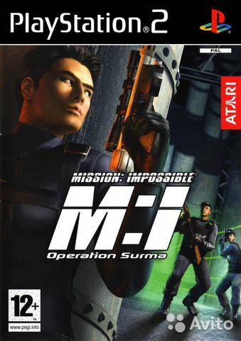 PS2 Impossible Mission— фотография №1