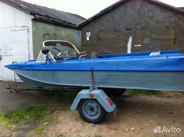 поддержанный прицеп для лодки