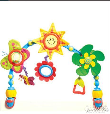 Дуга развивающая для коляски и автокресла Tiny Love Солнечная в Казани - купить с доставкой, цена, отзывы, фото