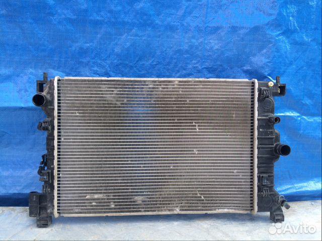 радиатор охлаждения двигателя chevrolet aveo