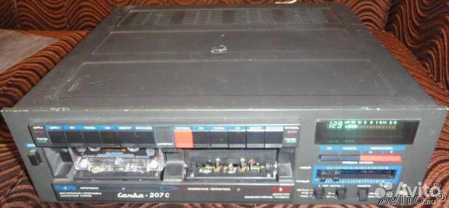 Санда мп 207С 2х кассетный +