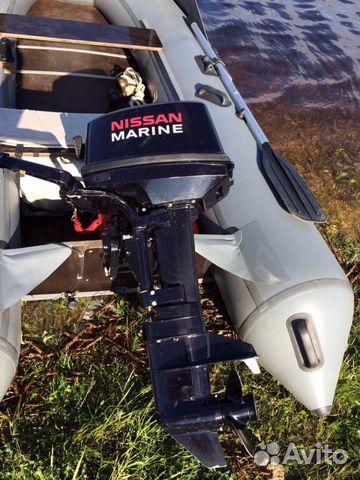 подвесной лодочный мотор ниссан марине 9.8