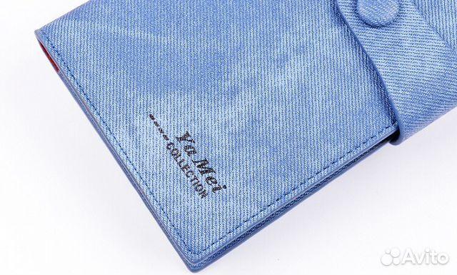 d2250eb8932 Клатч кожа с текстурой джинсов новинка