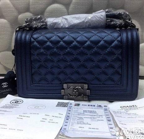 3af92051dc6a Сумки Chanel Le Boy Клатч Новый Шанель Бой купить в Москве на Avito ...