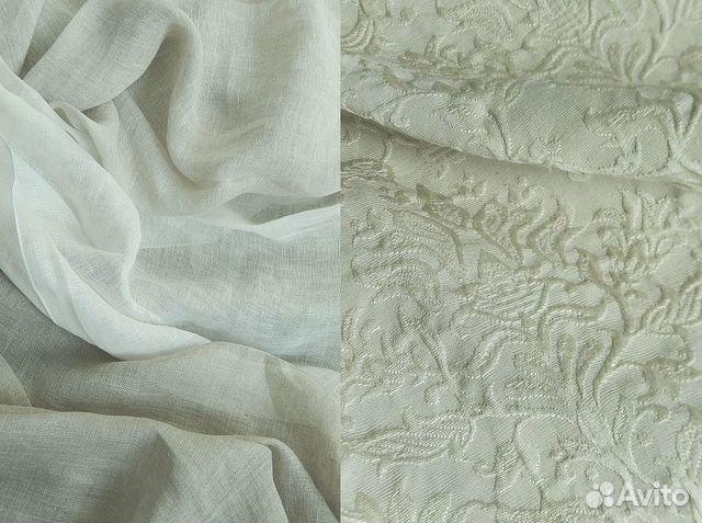Ткани для штор из натуральных тканей