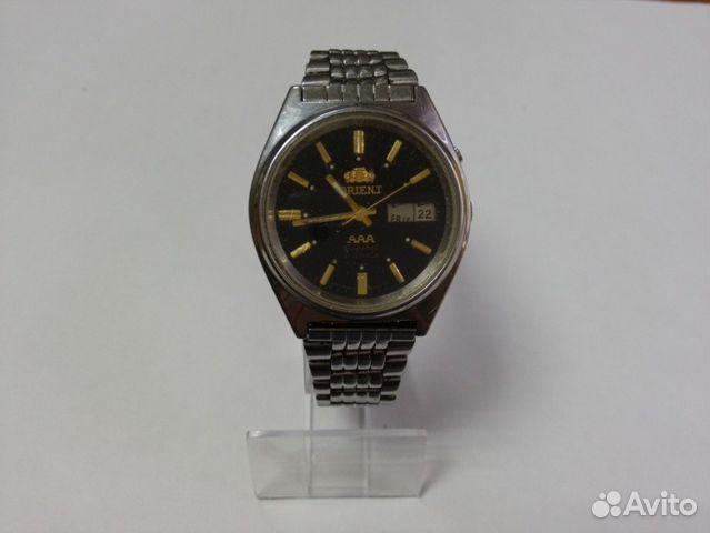 Купить бу часы ориент на авито купить часы в городе волжском