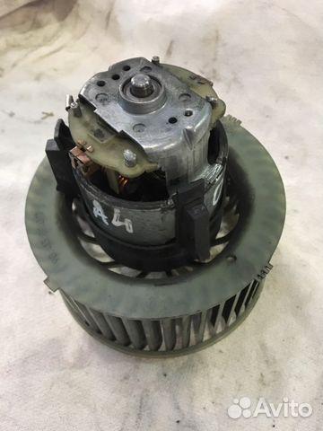 Мотор печки отопитель салона Ауди А4 Б5 кузов ориг— фотография №1