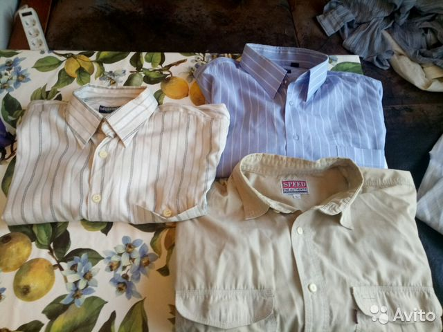 3bcadfd0ed2b6d7 Мужские рубашки короткий рукав 2 | Festima.Ru - Мониторинг объявлений