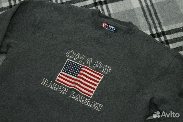 Chaps ralph lauren свитшот оригинал купить в Санкт-Петербурге на ... aafe8c655db55