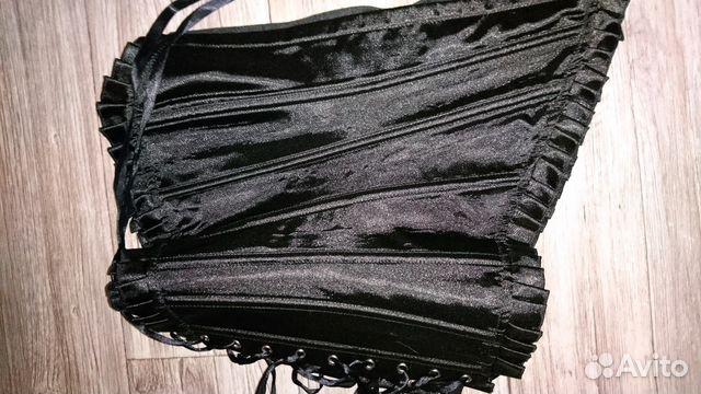 430198aaa51d3 Корсет чёрный купить в Тюменской области на Avito — Объявления на ...
