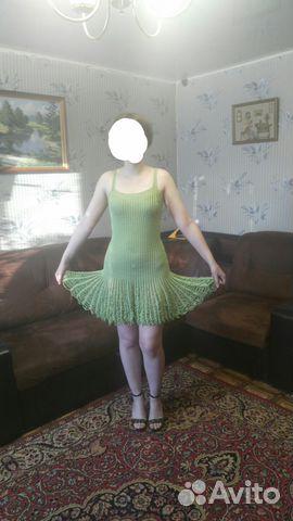 Вязанное платье 89038224475 купить 2