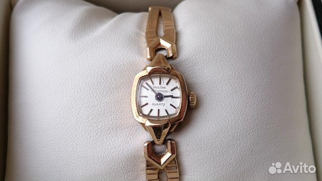 Женские наручные часы Bulova Accutron Винтаж 89525003388 купить 3