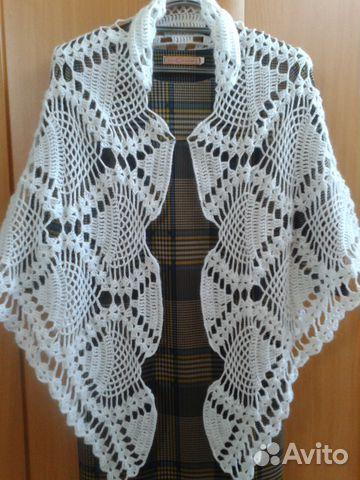 вязаные шали и платки купить в иркутской области на Avito