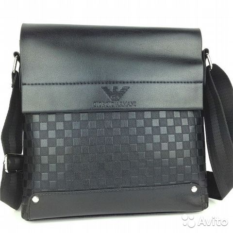 647ef869d9e8 Мужская сумка через плечо Giorgio Armani | Festima.Ru - Мониторинг ...