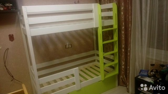 Кровать детская двухярусная купить 8
