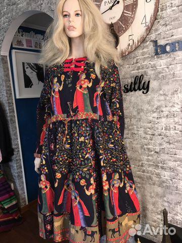 Платье Hermes лён 52 54 Италия   Festima.Ru - Мониторинг объявлений 0a10070a0ef