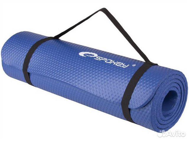 Коврик для йоги синий Spokey 89521116161 купить 1