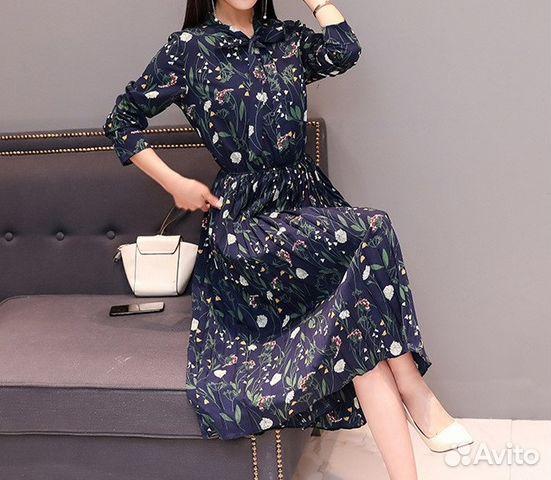 c42caa6826fe0c3 Шифоновое платье 48-50 размер | Festima.Ru - Мониторинг объявлений