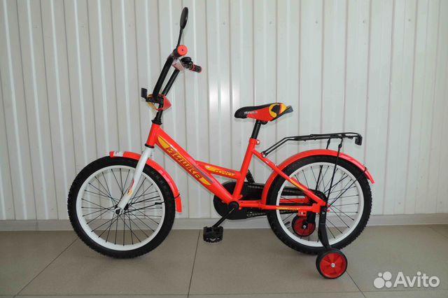 Велосипед Новый 18 Мишка, Red / В Кредит 89284666245 купить 1