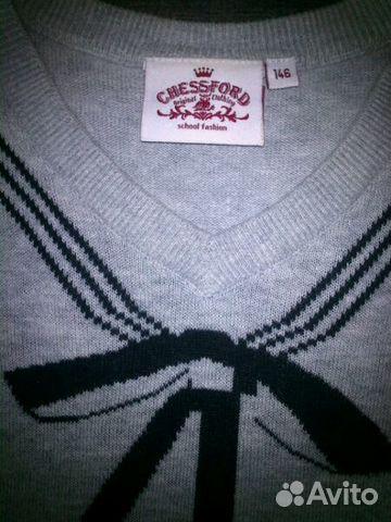 Жилет и блузки школьные купить 2