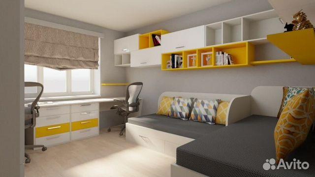 a1e2b2a386f8 Детская комната для двоих детей | Festima.Ru - Мониторинг объявлений