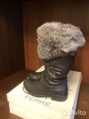 7730c8279 Сапоги зимние GF ferre купить в Москве на Avito — Объявления на ...