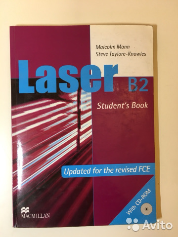 Laser 3rd edition b2 student's book with cd-rom with macmillan.