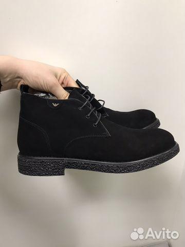 Мужские зимние ботинки Armani 41-42 размер   Festima.Ru - Мониторинг ... cfe94faa1f5
