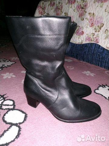 Сапоги новые зимние кожаные 89887087878 купить 1