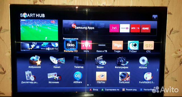 Телевизор SAMSUNG 40 (101см) smart TV wifi