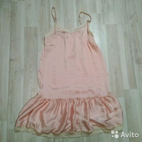 4cef5ccd598 Розовое платье-сарафан в бельевом стиле купить в Республике ...