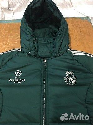 d271a5297a3 Пуховик Adidas. Оригинальный пуховик Real Madrid купить в ...