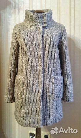 итальянское вязаное пальто Superior купить в санкт петербурге на