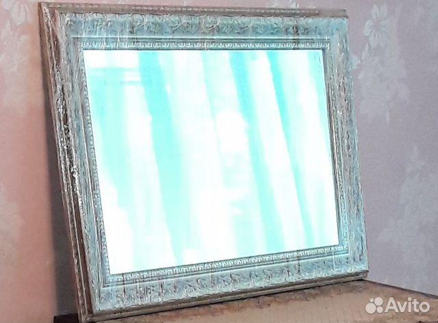 Зеркало в багетной раме (новое) 89102956621 купить 3