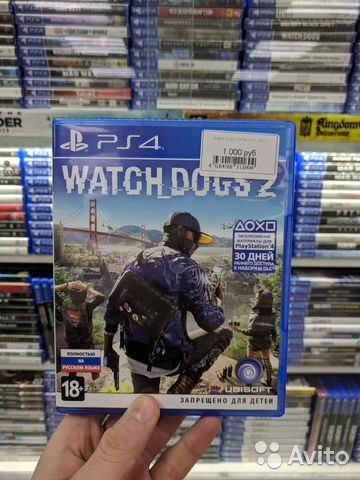 Watch Dogs 2 PS4 Б.У (Обмен)