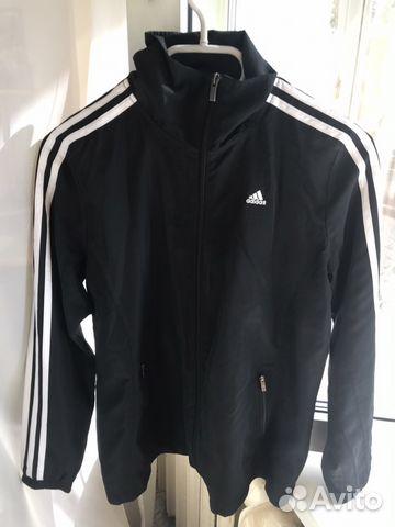 a80253e3 Спортивный костюм Adidas чёрный купить в Москве на Avito ...